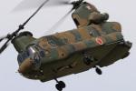 Nao0407さんが、松本駐屯地で撮影した陸上自衛隊 CH-47Jの航空フォト(写真)