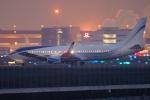 多摩川崎2Kさんが、羽田空港で撮影したEIEイーグル 737-8EQ BBJ2の航空フォト(写真)