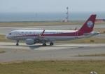 ふうちゃんさんが、関西国際空港で撮影した四川航空 A320-214の航空フォト(写真)