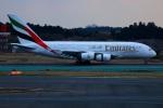 Tomo_mczさんが、成田国際空港で撮影したエミレーツ航空 A380-861の航空フォト(写真)