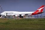 とらとらさんが、羽田空港で撮影したカンタス航空 747-438/ERの航空フォト(写真)