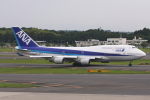 kinsanさんが、成田国際空港で撮影した全日空 747-481の航空フォト(写真)