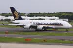 kinsanさんが、成田国際空港で撮影したシンガポール航空 A380-841の航空フォト(写真)