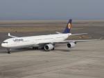 6500さんが、中部国際空港で撮影したルフトハンザドイツ航空 A340-642の航空フォト(写真)