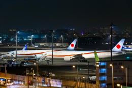 SGR RT 改さんが、羽田空港で撮影した航空自衛隊 777-3SB/ERの航空フォト(写真)