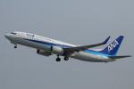 hideohさんが、岡山空港で撮影した全日空 737-881の航空フォト(写真)