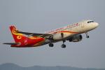 hideohさんが、岡山空港で撮影した香港航空 A320-214の航空フォト(写真)