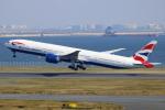 NANASE UNITED®さんが、羽田空港で撮影したブリティッシュ・エアウェイズ 777-336/ERの航空フォト(写真)