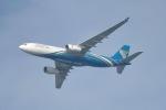 cornicheさんが、ドーハ・ハマド国際空港で撮影したオマーン航空 A330-243の航空フォト(飛行機 写真・画像)