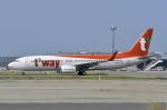 kix-booby2さんが、関西国際空港で撮影したティーウェイ航空 737-8Q8の航空フォト(写真)