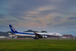 サボリーマンさんが、松山空港で撮影した全日空 777-381の航空フォト(飛行機 写真・画像)