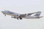 水月さんが、関西国際空港で撮影したシルクウェイ・ウェスト・エアラインズ 747-4H6F/SCDの航空フォト(写真)