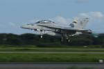 sepia2016さんが、茨城空港で撮影したアメリカ海兵隊 F/A-18D Hornetの航空フォト(写真)