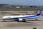 T.Sazenさんが、羽田空港で撮影した全日空 777-381/ERの航空フォト(飛行機 写真・画像)