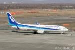 遠森一郎さんが、新千歳空港で撮影した全日空 737-881の航空フォト(写真)