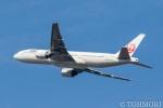 遠森一郎さんが、新千歳空港で撮影した日本航空 777-246の航空フォト(写真)