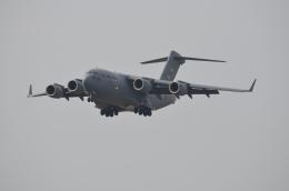 382kossyさんが、横田基地で撮影したアメリカ空軍 C-17A Globemaster IIIの航空フォト(飛行機 写真・画像)