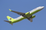 ANA744Foreverさんが、成田国際空港で撮影したジンエアー 737-8SHの航空フォト(写真)
