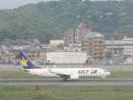flyflygoさんが、福岡空港で撮影したスカイマーク 737-8ALの航空フォト(写真)