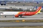 冷やし中華始めましたさんが、関西国際空港で撮影したベトジェットエア A321-271Nの航空フォト(写真)