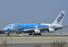 kix-booby2さんが、関西国際空港で撮影した全日空 A380-841の航空フォト(写真)