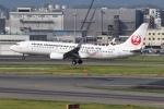 Timothyさんが、福岡空港で撮影した日本トランスオーシャン航空 737-8Q3の航空フォト(写真)