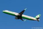 遠森一郎さんが、新千歳空港で撮影したエバー航空 A321-211の航空フォト(写真)