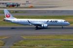 Tomo_mczさんが、羽田空港で撮影したジェイ・エア ERJ-190-100(ERJ-190STD)の航空フォト(写真)
