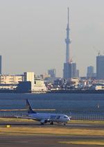 ふじいあきらさんが、羽田空港で撮影したスカイマーク 737-86Nの航空フォト(写真)