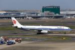 T.Sazenさんが、羽田空港で撮影した中国国際航空 A330-343Xの航空フォト(飛行機 写真・画像)