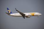 チャッピー・シミズさんが、成田国際空港で撮影したMIATモンゴル航空 737-8SHの航空フォト(写真)