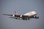 チャッピー・シミズさんが、成田国際空港で撮影したタイ国際航空 A380-841の航空フォト(写真)