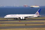 けいとパパさんが、羽田空港で撮影したユナイテッド航空 787-9の航空フォト(写真)