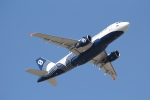 ANA744Foreverさんが、成田国際空港で撮影したオーロラ A319-112の航空フォト(飛行機 写真・画像)