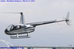 Chofu Spotter Ariaさんが、大阪ヘリポートで撮影した小川航空 R44 Astroの航空フォト(飛行機 写真・画像)