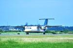 デデゴンさんが、与論空港で撮影した琉球エアーコミューター DHC-8-103Q Dash 8の航空フォト(飛行機 写真・画像)