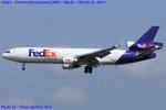Chofu Spotter Ariaさんが、成田国際空港で撮影したフェデックス・エクスプレス MD-11Fの航空フォト(写真)