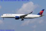 Chofu Spotter Ariaさんが、成田国際空港で撮影したデルタ航空 A350-941XWBの航空フォト(写真)