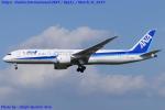 Chofu Spotter Ariaさんが、成田国際空港で撮影した全日空 787-9の航空フォト(写真)