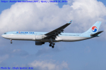 Chofu Spotter Ariaさんが、成田国際空港で撮影した大韓航空 A330-323Xの航空フォト(飛行機 写真・画像)