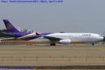 Chofu Spotter Ariaさんが、成田国際空港で撮影したタイ国際航空 A330-343Xの航空フォト(飛行機 写真・画像)