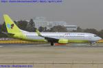 Chofu Spotter Ariaさんが、成田国際空港で撮影したジンエアー 737-8B5の航空フォト(飛行機 写真・画像)