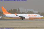 Chofu Spotter Ariaさんが、成田国際空港で撮影したチェジュ航空 737-8BKの航空フォト(飛行機 写真・画像)
