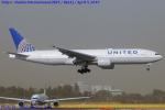 Chofu Spotter Ariaさんが、成田国際空港で撮影したユナイテッド航空 777-222/ERの航空フォト(飛行機 写真・画像)