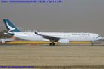 Chofu Spotter Ariaさんが、成田国際空港で撮影したキャセイパシフィック航空 A330-343Xの航空フォト(写真)