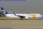 Chofu Spotter Ariaさんが、成田国際空港で撮影したMIATモンゴル航空 767-34G/ERの航空フォト(飛行機 写真・画像)