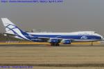 Chofu Spotter Ariaさんが、成田国際空港で撮影したエアブリッジ・カーゴ・エアラインズ 747-406F/ER/SCDの航空フォト(飛行機 写真・画像)