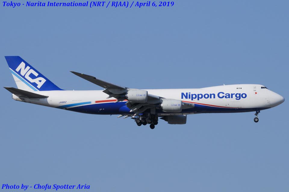 Chofu Spotter Ariaさんの日本貨物航空 Boeing 747-8 (JA16KZ) 航空フォト