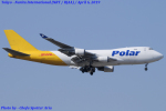 Chofu Spotter Ariaさんが、成田国際空港で撮影したポーラーエアカーゴ 747-47UF/SCDの航空フォト(飛行機 写真・画像)
