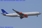 Chofu Spotter Ariaさんが、成田国際空港で撮影したスカンジナビア航空 A340-313Xの航空フォト(飛行機 写真・画像)